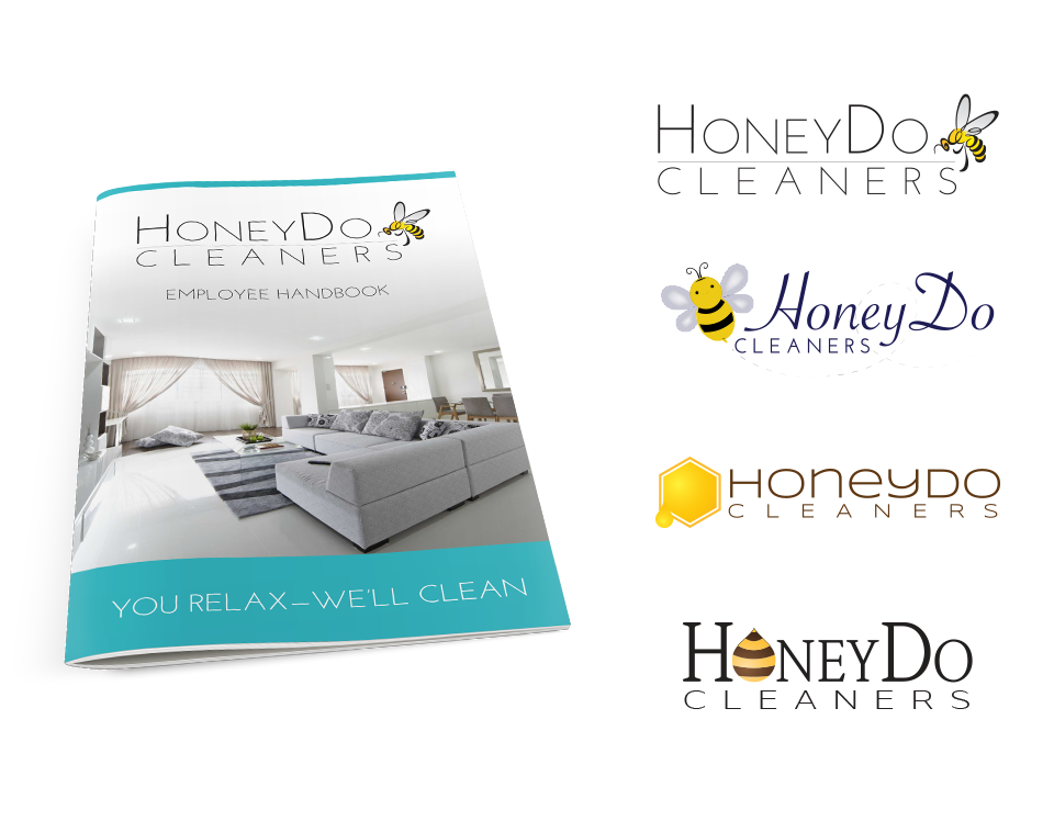 The HoneyDo Cleaners logo by Paul W. Perry