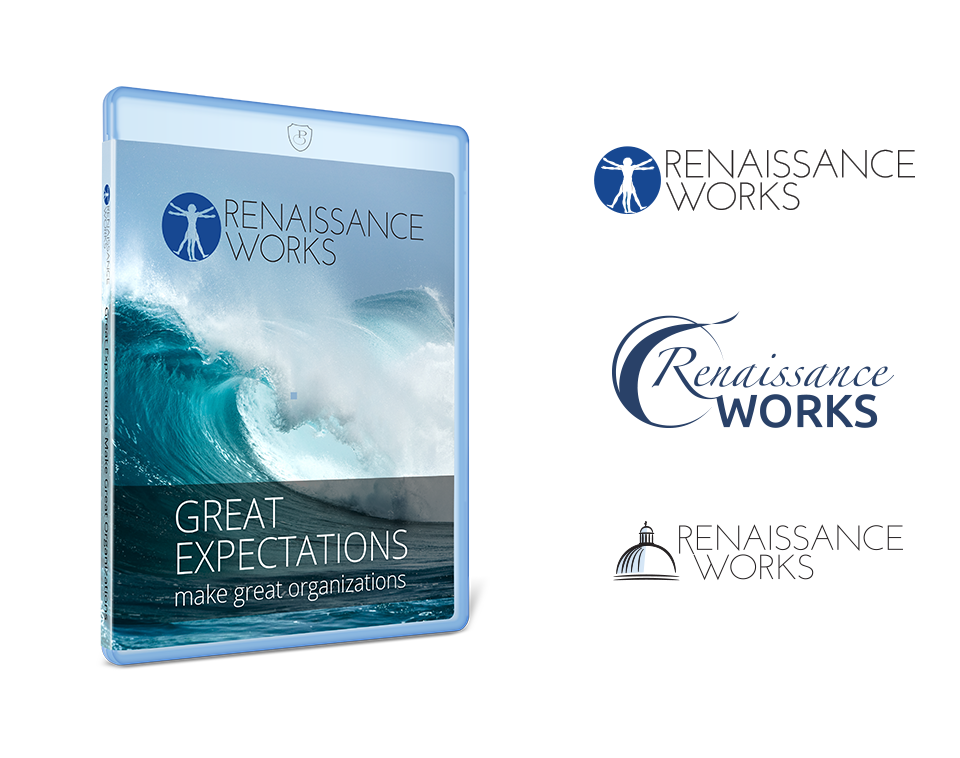 The Renaissance Works logo by Paul W. Perry